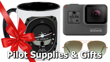 Pilot aviation gifts supplies