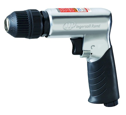 Ingersoll Rand 3/8 inch Air Drill Keyless Chuck