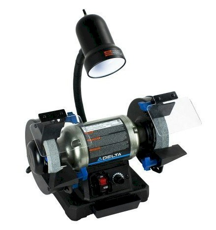 Delta Power 6 Inch Variable Speed Bench Grinder