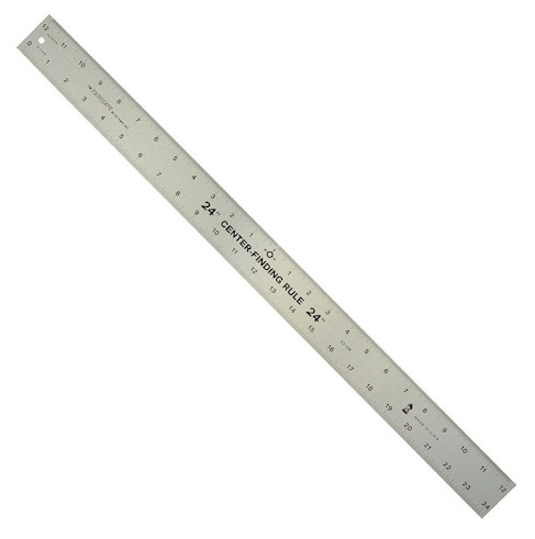 Big Horn 19109 Center Finder Ruler, 24-Inch