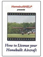 How to License Your Homebuilt Aircraft (DVD)