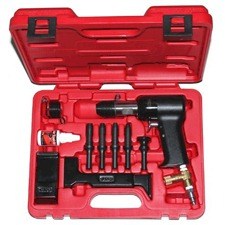 2X Rivet Gun and Bucking Bars Kit