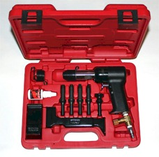 3X Rivet Gun and Bucking Bars Kit