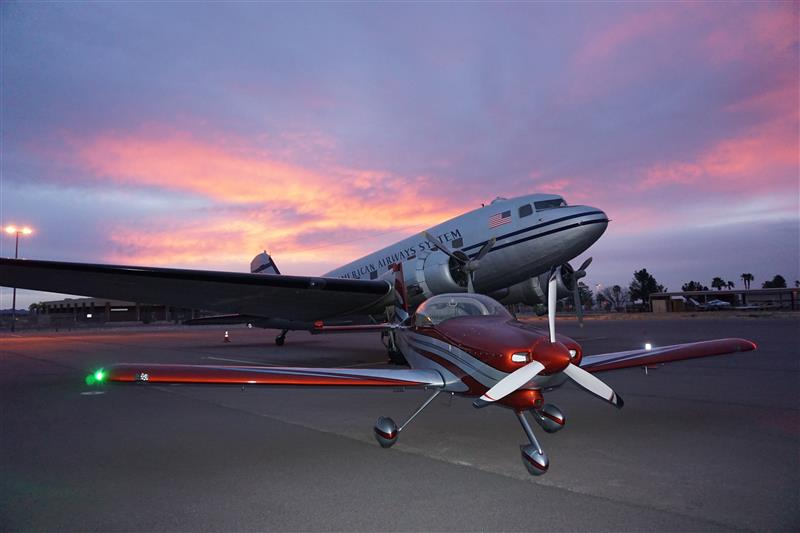 My RV-9A with a DC-3